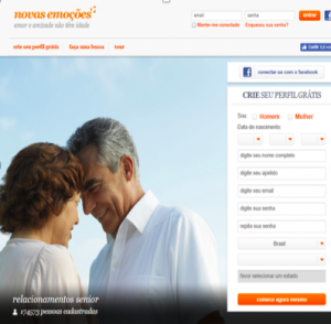 Cadastrar se novasemocoes.com www.qualsitedeencontros.com.br