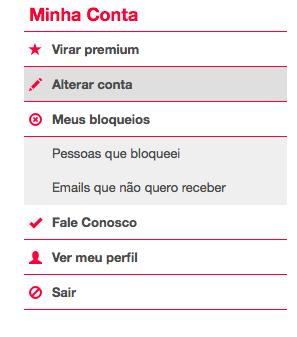 Como cancelar apagar a conta do AmorEmCristo minha conta assinatura anular