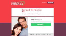 Os 10 Melhores Sites de Relacionamento Evangélico encontros amor cristão site numero 7 namoroevangelico.net