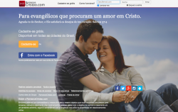 Os 10 Melhores Sites de Relacionamento Evangélico encontros amor cristão site numero 5 romancecristao.com