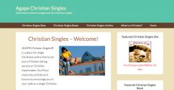 Os 10 Melhores Sites de Relacionamento Evangélico- Christian single agape