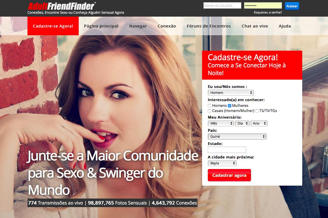 sexo facil sites de encontros gratuitos