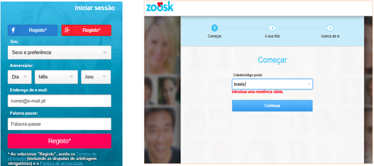 Avaliação, Zoosk, preço , funções contato atendimento ao cliente