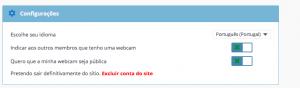 Como eliminar apagar excluir deletar cancelar o cadastro o perfil a conta do Encontros Locais passo 4