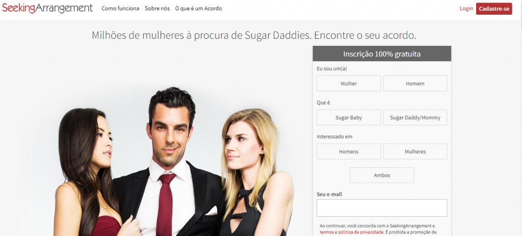 Os 5 melhores e mais interessantes site sugar baby